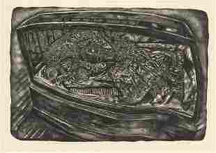 Ivan Albright, Show Case Doll, Lithograph