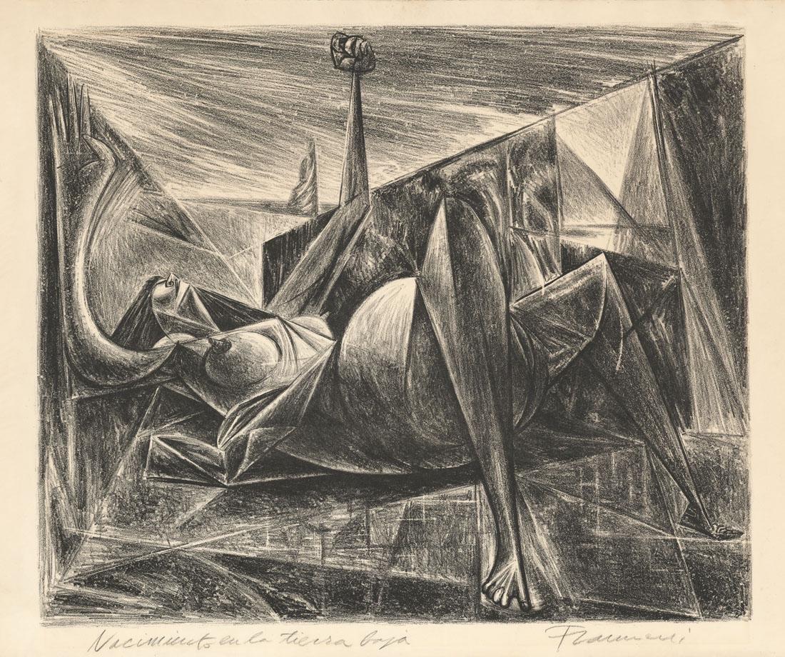 Antonia Frasconi, Original Lithograph, RARE