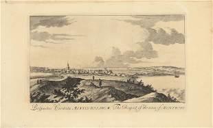 John Slezer, Town of Montrose, Engraving