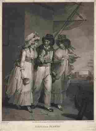 Henry Singleton British Plenty Engraving