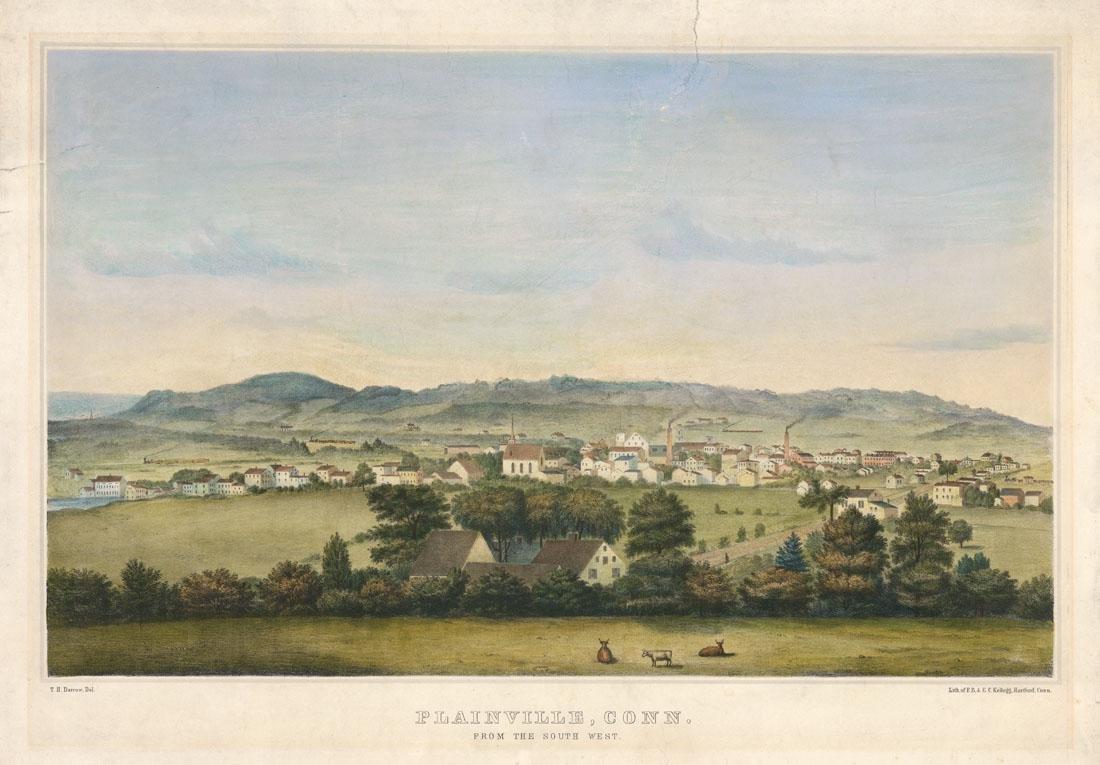 Titus H. Darrow, Plainville, Conn, Lithograph