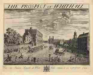 Johannes Kip Prospect of Whitehall Engraving
