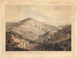 Sandy Bay Island of St Helena 1809 Aquatint