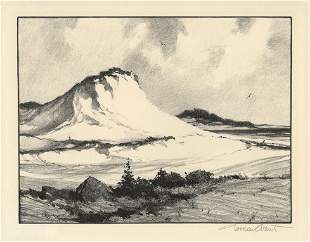Gordon H Grant Crested Dune Lithograph
