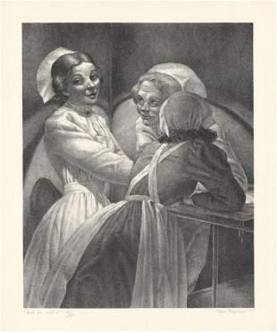 Kyra Markham And He Said Lithograph