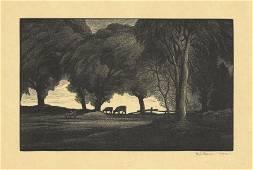 Thomas W. Nason, Midsummer, Woodengraving