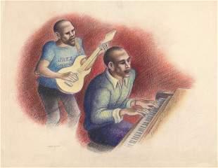 Abe Blashko Original Drawing The Duo
