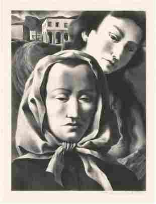 Federico Castellon Memories AAA Lithograph