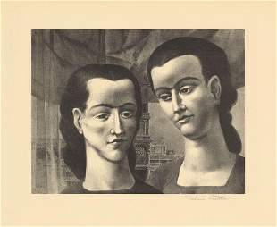 Federico Castellon Bengalese Sisters