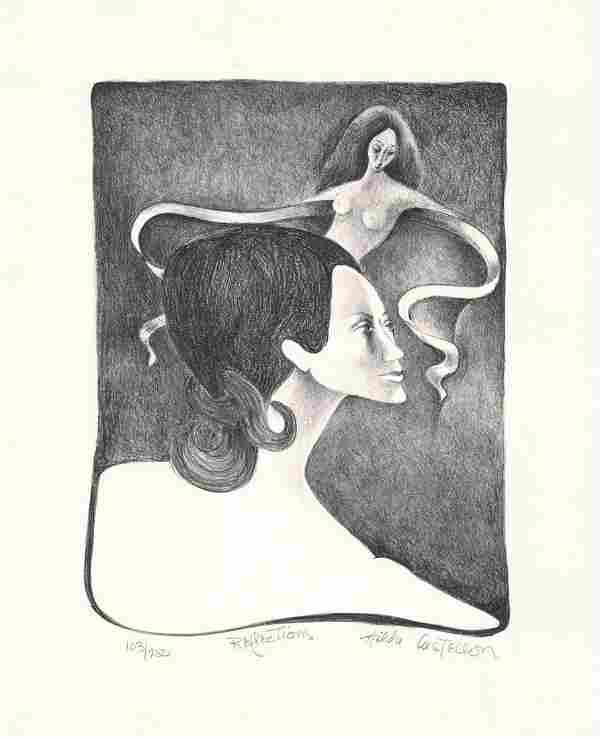 Hilda Castellon, Reflections, AAA Lithograph