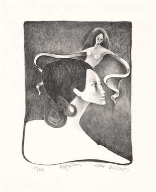 Hilda Castellon Reflections AAA Lithograph