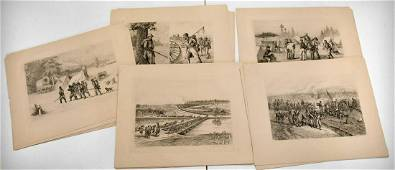 Edwin Forbes Civil War Complete 40 Etchings