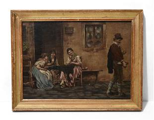 Original Oil Painting by an Unknown Artist