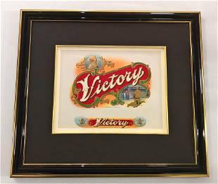 Original 20th Century Cigar Label