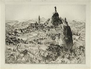 John Taylor Arms, Le Puy, Etching
