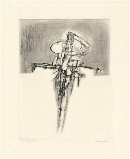 Doroteo Arnaiz, Torture 1963, Etching