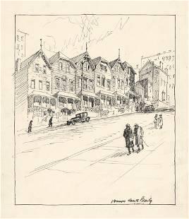 Vernon Howe Bailey, drawing NYC
