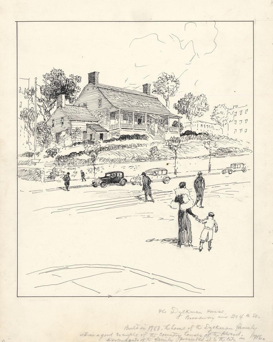 Vernon Howe Bailey, Dyckman House