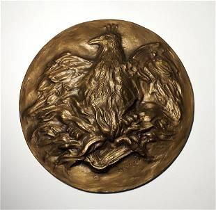 Leonard Baskin, Eagle Sculpture