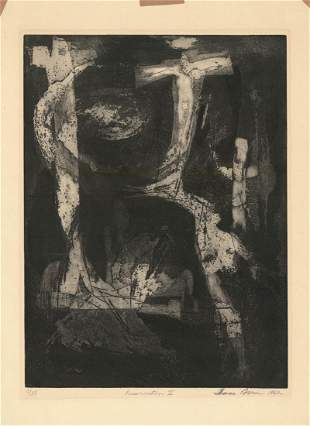 Thomas Fern Original Etching Resurrection II