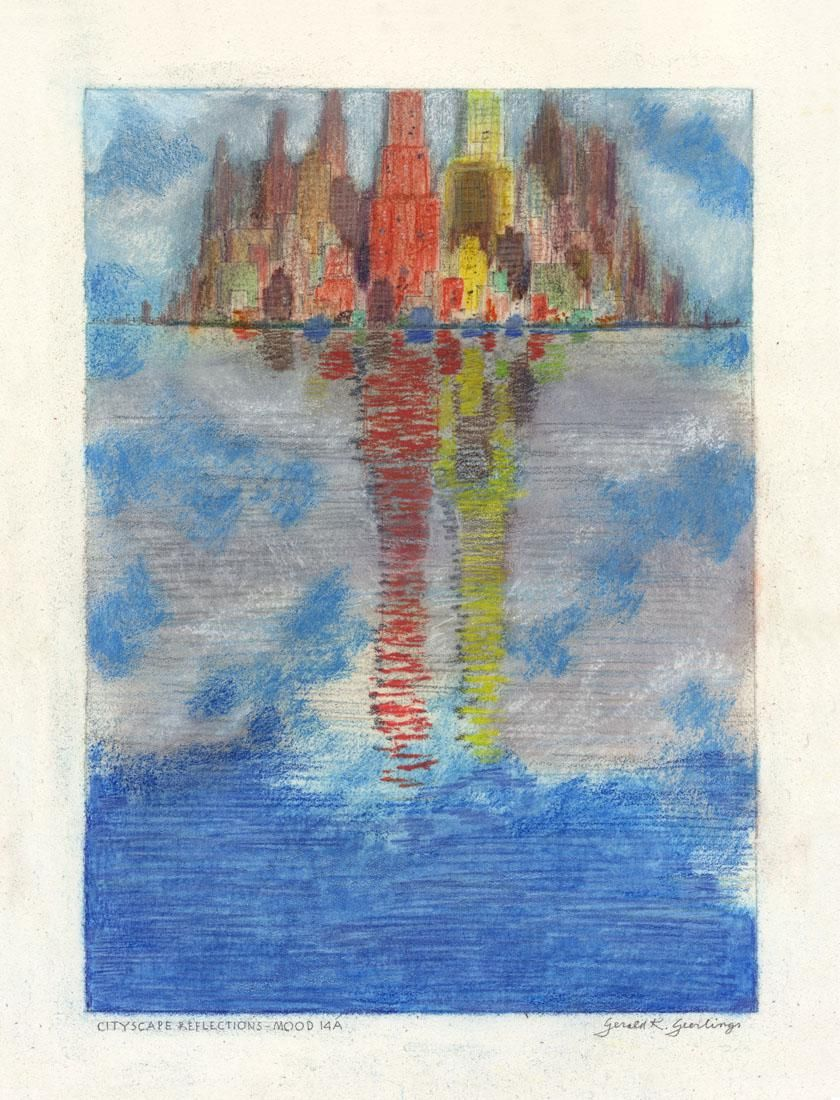 Gerald Geerlings, Cityscape Reflections