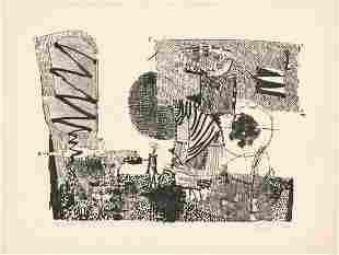 Juan GomezQuiroz Lithograph