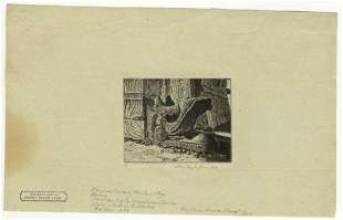 John Taylor Arms, Plumed Serpent, Etching
