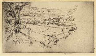 Joseph Pennell Olympia Etching