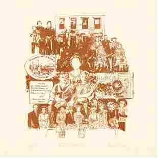 Marie Sturken Family Album Lithograph