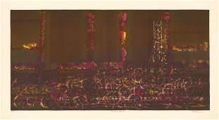 Richard Florsheim, Spinning Machine, Lithograph