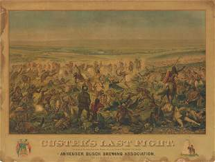 Custer's Last Fight, Anheuser Busch Brewing
