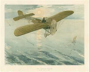 H. Delaspre, The Channel Flight, Louis Bleriot