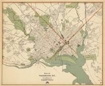 George H. Walker, Map of Washington, D.C.