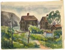 Alice Harold Murphy, Untitled Watercolor