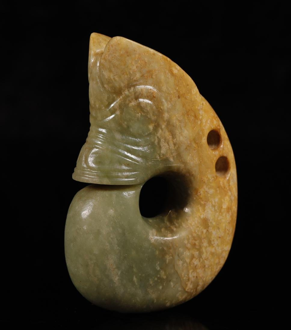 Hongshan Culture - Carved Jade Dragon