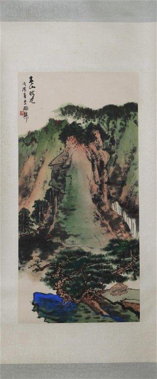 8d323f4e4 Xie Zhiliu Green Mountain - Dec 08, 2013 | Gianguan Auctions in NY