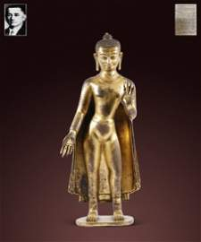 Ming Dynasty - Gilt Buddha Statue