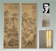"Qing Dynasty ""Shang Shui"" Painting"