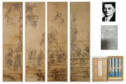 Ming Dynasty Li Lin Arhat Painting