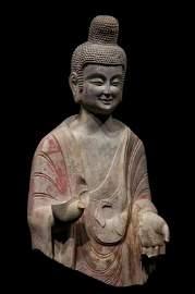 Qingzhou Stone Buddha Statue