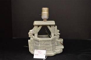 Buckingham Ceramics USA Planter Lamp Oh Wishing Well
