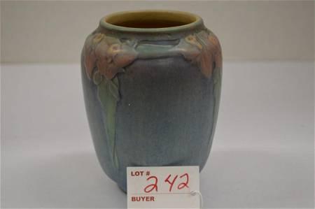 Newcomb Vase w/ Flower Pattern, #35 MW81, 5 in.