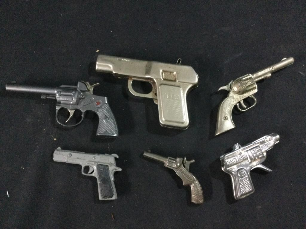 Vintage Iron & Tin Cap Guns