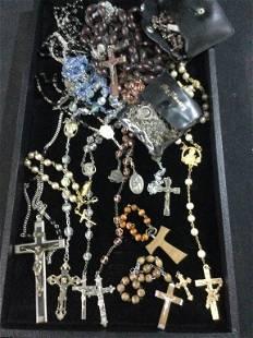 Antique Vintage Rosaries