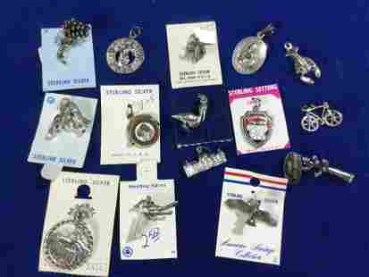 Vintage Sterling Charms
