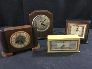 Vintage Mid Century Desk Clocks