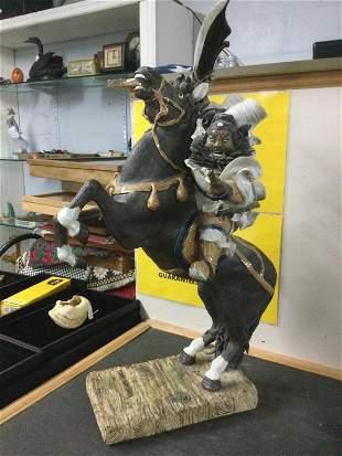 Vintage Mongolian Statue