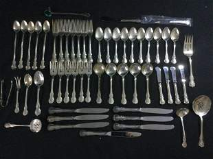 """Sterling Flatware Set """"Towle Sterling"""""""