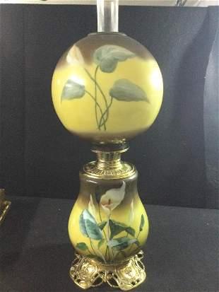 Vinage Bradley & Hubbard Oil Lamp