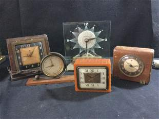 Mid Century Desk Clocks